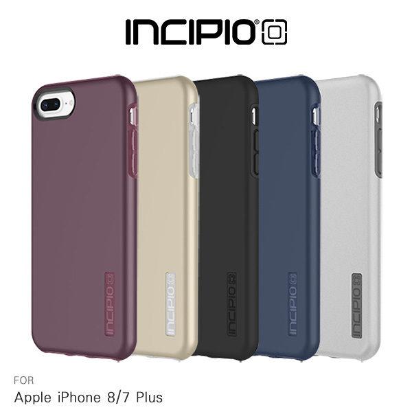 【愛瘋潮】99免運INCIPIOAppleiPhone7Plus8Plus(5.5吋)DUALPRO雙料殼保護殼背殼