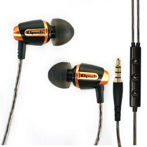 Klipsch Reference S4i In-Ear iPhone/iPod/iPad三鍵式線控附麥克風密閉型耳塞式耳機
