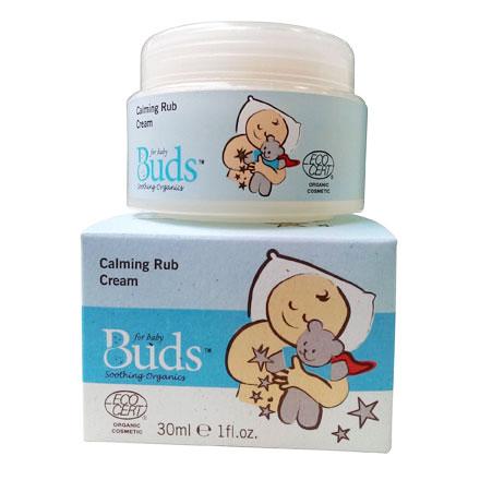 Buds 芽芽有機【日安系列】舒緩按摩霜 30ml【悅兒園婦幼生活館】