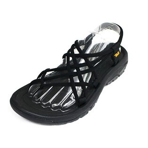 TEVAHURRICAN涼鞋避震編織鞋帶抗菌處理TV1091112BLK黑[陽光樂活]