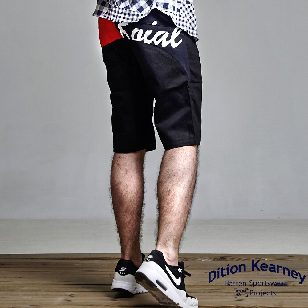 DITION 特價100元商品!!美式SURF電繡工作短褲【12/1-31 單筆滿1000結帳輸入序號 XmasGift-100 再折↘100】