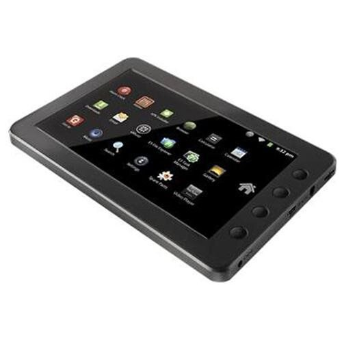 "Coby Kyros MID7012-4G 7"" Tablet, Telechips ARM 11, 4GB Storage, MicroSD Reader, Wi-Fi, Android 2.3 1"