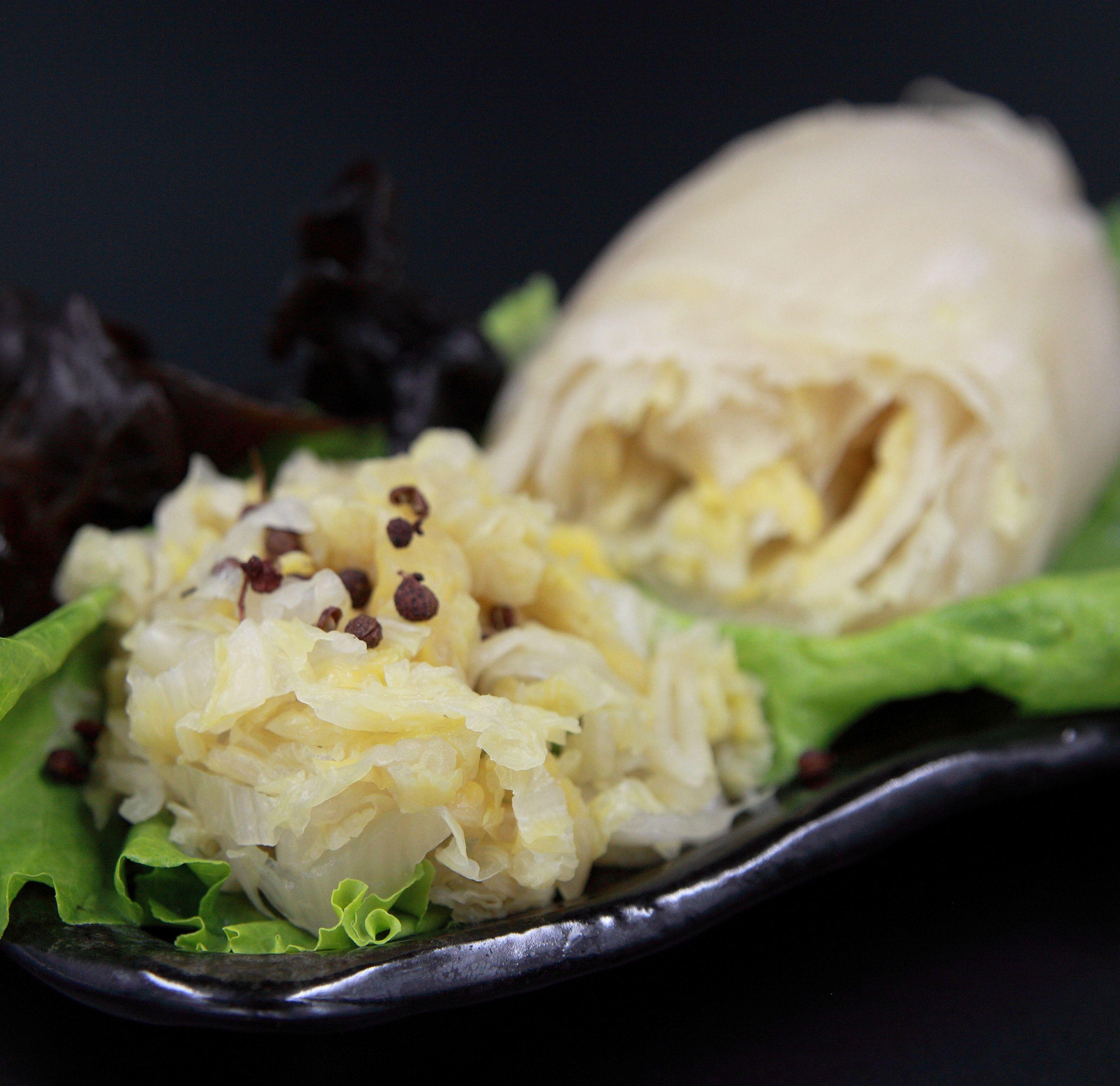 東北酸白菜 (600g) 【龍岡圓環】 | 21天自然發酵熟成,酸溜解膩,煲湯、火鍋最佳良伴。