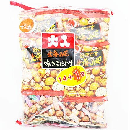 【敵富朗超巿】天六 二色綜合14+1袋入大包裝(豆果子) - 限時優惠好康折扣