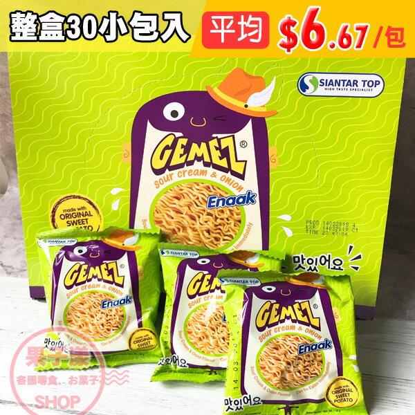 Enaak點心脆麵洋蔥味(整盒30包入)小雞麵點心麵[IN035A]