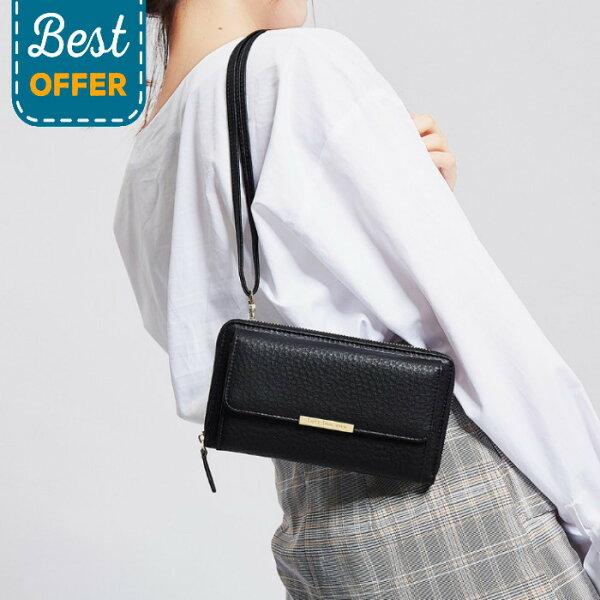 【現貨+預購】側背包韓版大容量多卡位手機包手拿包錢包長夾NO.JY104