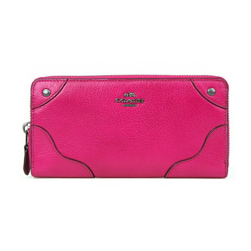 COACH F52645 錢夾女式新款長款皮革手風琴拉鏈錢包