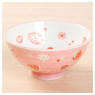 兒童用飯碗 草莓PI 美濃燒