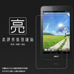亮面螢幕保護貼 Acer Iconia One 7 B1-750 平板保護貼 軟性 亮貼 亮面貼 保護膜