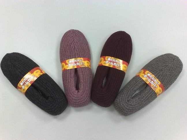【日本進口】女用室內保暖毛襪拖鞋