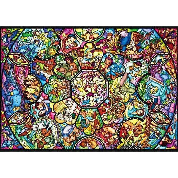 【進口拼圖】迪士尼 DISNEY-塑膠材質-米奇米妮 彩繪萬花筒 266 pcs DPG-266-563