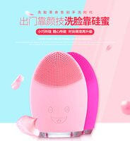 美容家電到電動洗臉刷 硅膠潔面儀 電動洗臉機 毛孔清潔器【H00124】