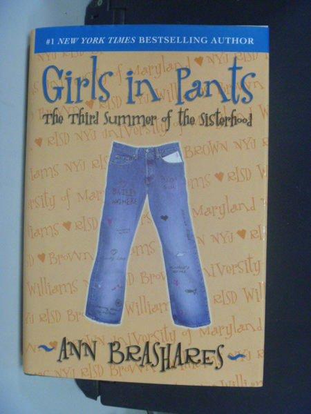 【書寶二手書T5/原文小說_NMF】Girls in Pants: The Third Summer