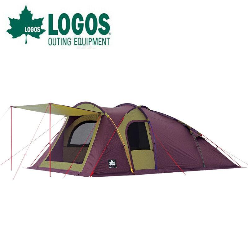 【露營趣】中和安坑 LOGOS LG71805516 Prem. Link XL-AG 五人帳篷 別墅帳 客廳帳 圓頂帳 隧道帳 一房一廳 露營帳