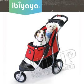 《IBIYAYA依比呀呀》充氣胎冠軍子彈推車/寵物推車(FS801)