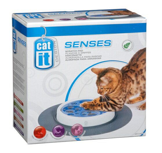 加拿大Hagen赫根~愛貓磨爪抓抓樂迷 ~貓咪益智解壓玩具 貓抓盤