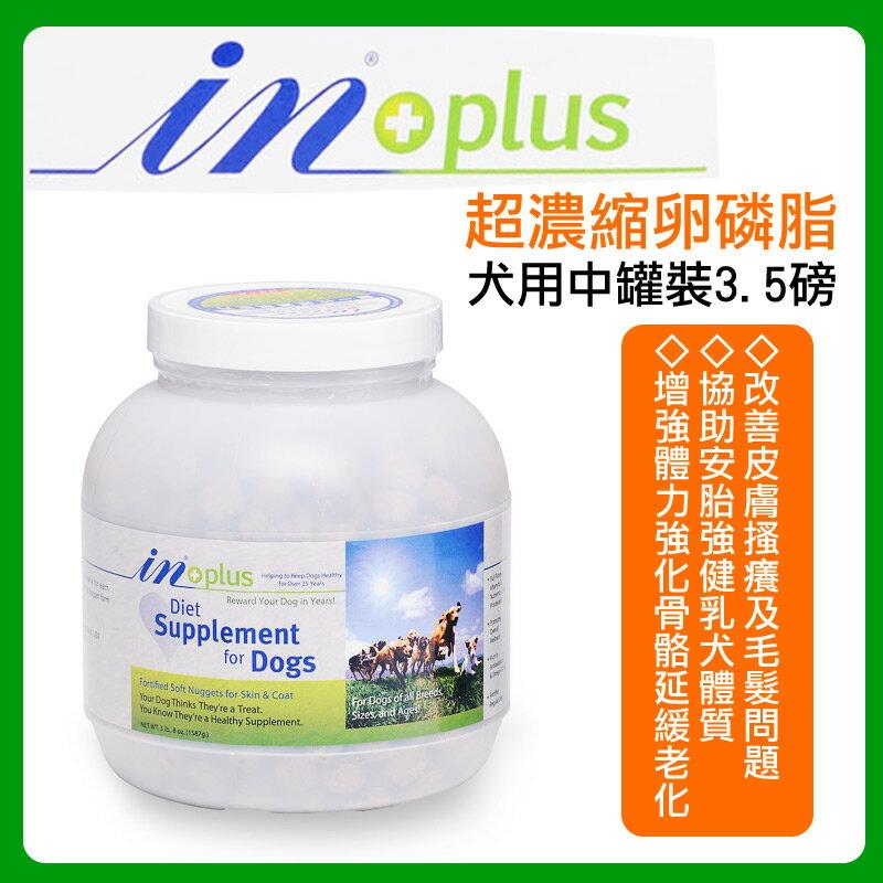 耐吉斯 IN-PLUS 贏【超濃縮卵磷脂】 犬用中罐裝3.5磅