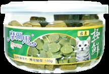 貓 摩爾思MORES ~貓用機能潔牙片~保鮮罐裝100公克