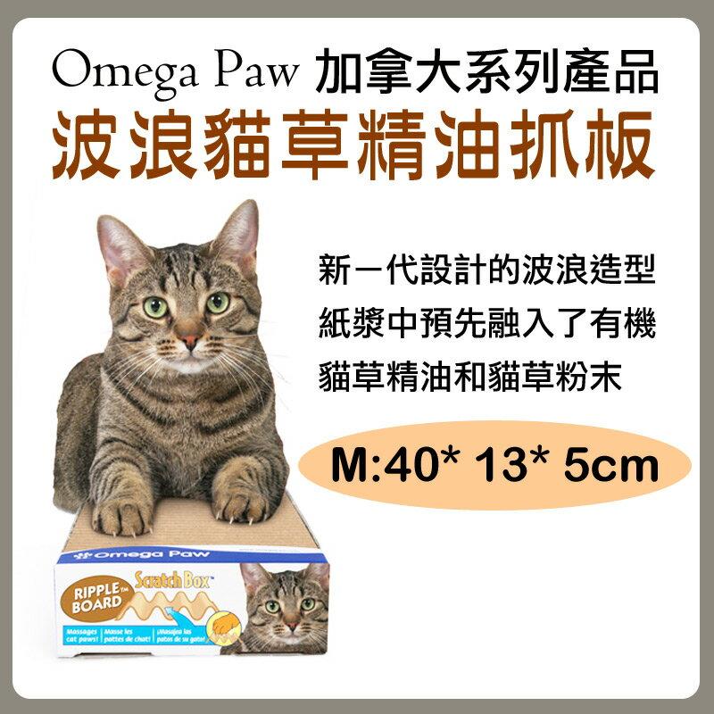 ~汪咪堡~Omega Paw波浪貓草精油抓板^(中^)
