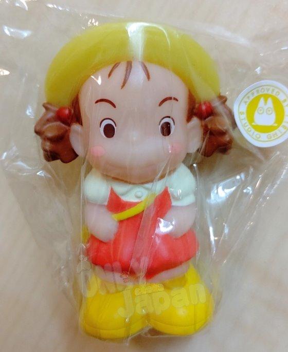 吉卜力 小梅戴帽背包包 龍貓totoro 宮崎駿 筆套 收藏 擺設 指套娃娃 指套玩偶 4990593298907 真愛日本