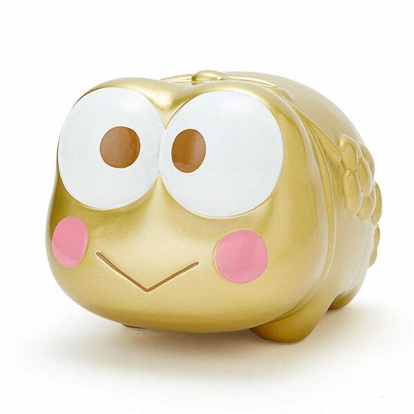 大眼蛙存錢筒撲滿豬公金色741976海渡代購