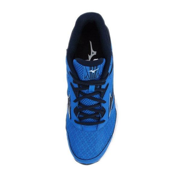 Mizuno Wave Surge [J1GC171318] 男鞋 運動 走路 跑步 氣墊 避震 休閒 美津濃 深藍 3