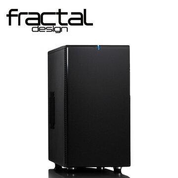 迪特軍3C:【迪特軍3C】瑞典FDDEFINE-Mini黑FractalDesignDEFINEMini靜音機殼(永夜黑)