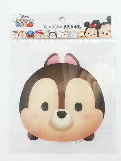 【真愛日本】16011200033TSUM防水貼紙-奇奇  奇奇蒂蒂 花栗鼠 迪士尼 裝飾貼紙 PVC 貼紙