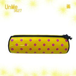 【加賀皮件】UNME 可愛圓點 小學生筆袋 文具收納袋 鉛筆盒 3627