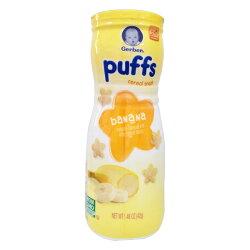 Gerber 美國嘉寶星星餅乾-香蕉口味(適合8個月以上食用)【悅兒園婦幼生活館】