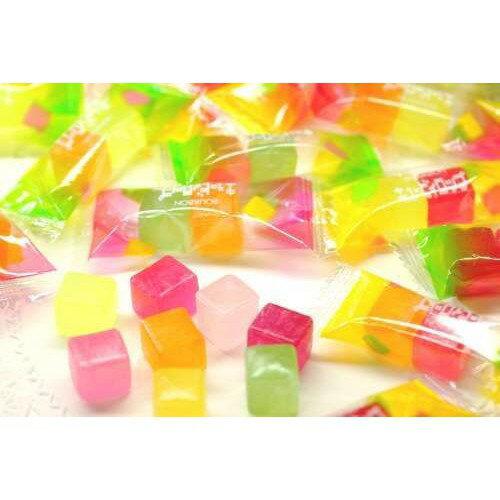 【江戶物語】 BOURBON CUBYROP水果糖 8種水果糖 硬糖 北日本 QB水果糖 婚禮小物 喜糖 日本糖果
