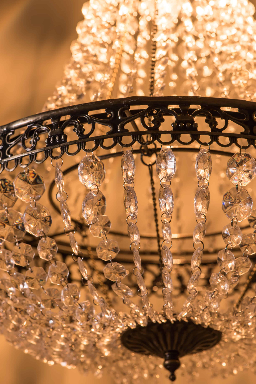 古銅華麗透明壓克力珠吊燈-BNL00050 6