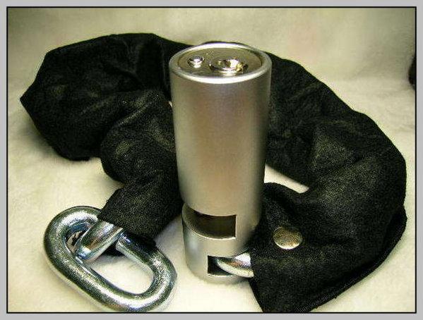 《育誠科技》東興鋼鏈鎖加強型【13mm粗78cm長】粗勇型機車大鎖/另有鋼甲武士鋼鍊鎖