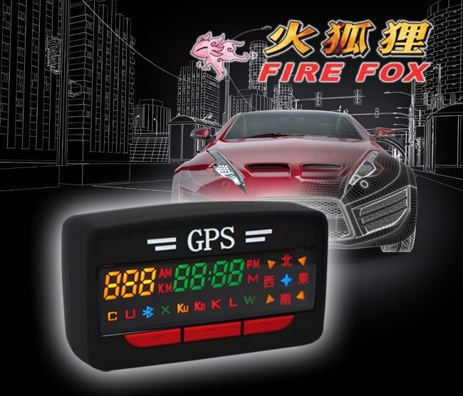 ~育誠科技~送3孔擴充~火狐狸 GPS~A3 Plus~A3 GPS測速器 內置天線  南