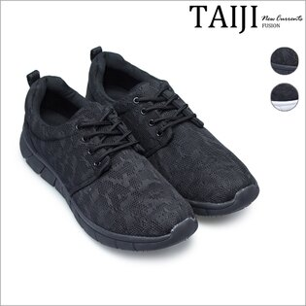 TAIJI:潮流跑鞋‧網布彈力輕量慢跑鞋‧二色【NO2S114N】-TAIJI-