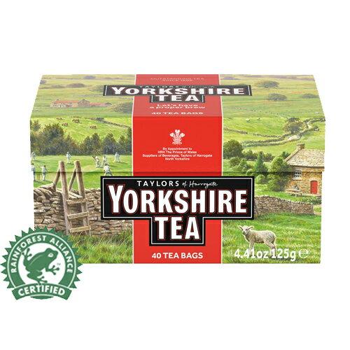 ~即期品~Yorkshire約克郡 紅茶  茶包40入