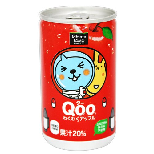 【Minute Maid】QOO蘋果汁迷你罐 160ml
