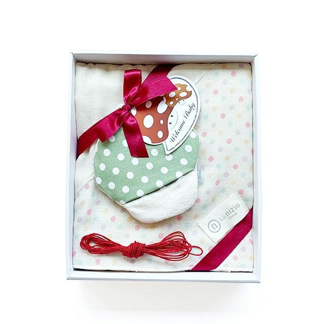 Nizio 跳跳糖(嬰兒白)+摸摸菇(隨機色)禮盒組