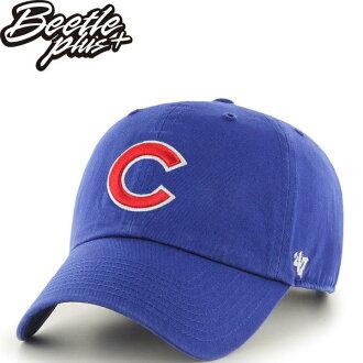 BEETLE 47 BRAND 老帽 芝加哥小熊 CHICAGO CUBS DAD 職棒 大聯盟 MLB 藍 紅字 MN-409