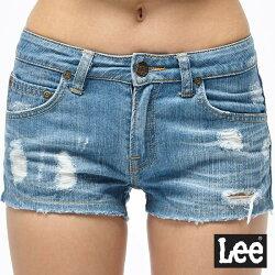 Lee 牛仔短褲-淺藍色-女款