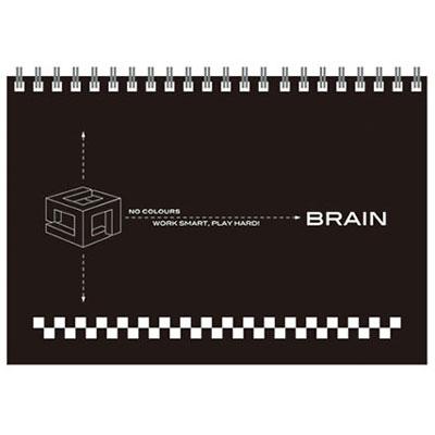 美加美 AW5029 8K無色系列素描本-黑 /本