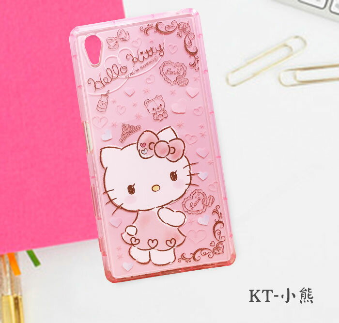 【Hello Kitty】HTC Desire 728 手機殼 軟殼 Kitty迷必敗