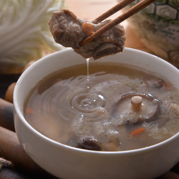 竹笙香菇排骨湯 600g±10%