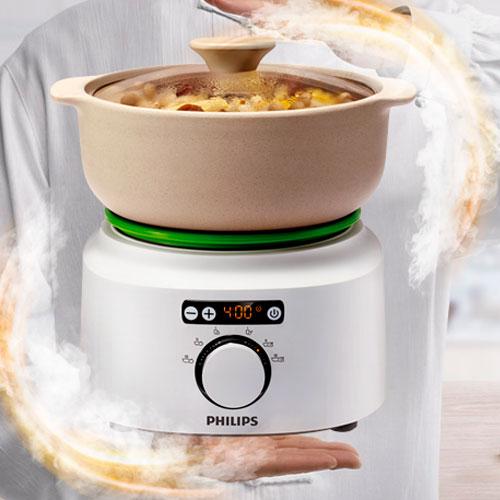 PHILIPS 飛利浦 HR2210 煲湯氣鍋  汽鍋醇湯煲 買就送愛家寶丼碗十件組