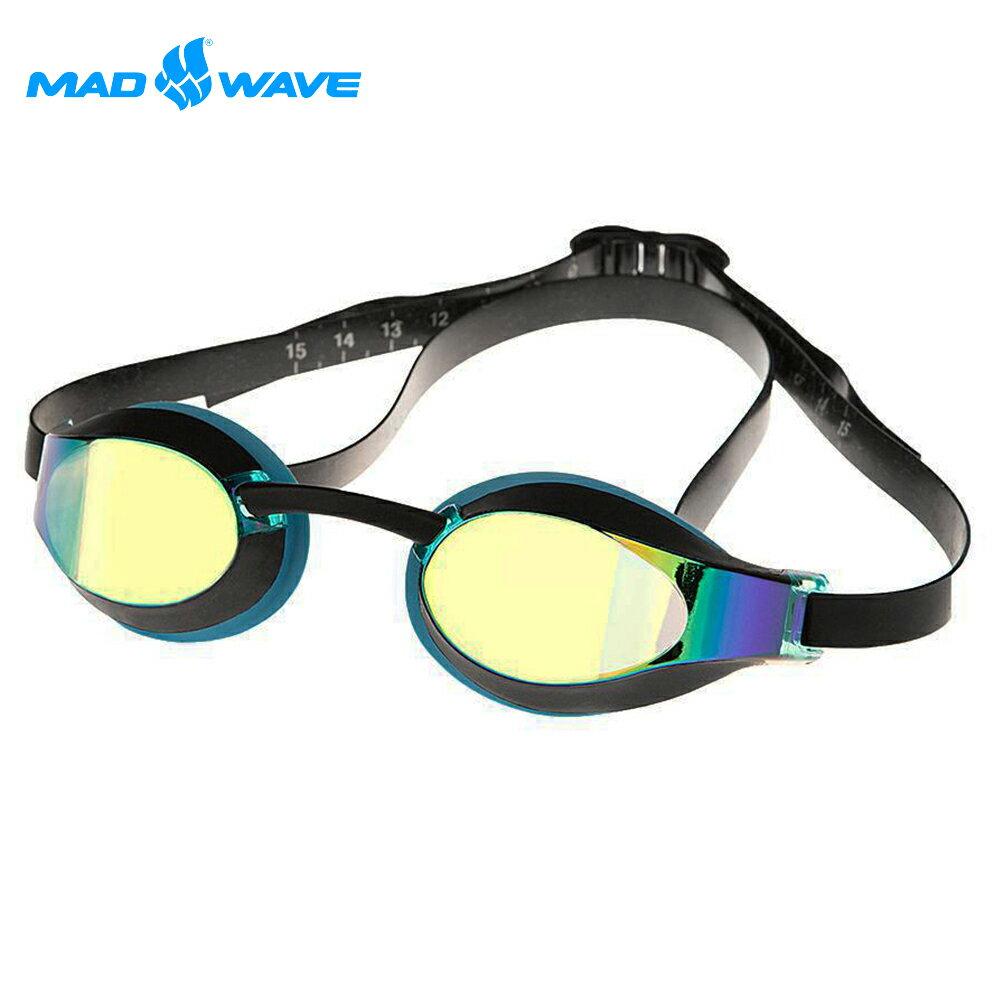 俄羅斯MADWAVE成人泳鏡X-LOOK RAINBOW 0