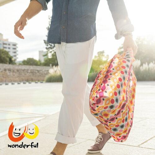 reisenthel輕便環保購物袋-幾何亮彩BCRTAT2018