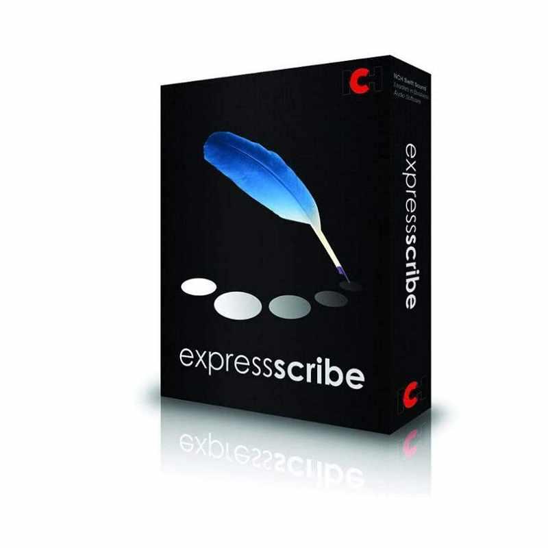 Express 音樂轉錄軟體 Scribe Pro Transcription Software 附USB腳踏板 適用Olympus Philips Sony [2美國直購]