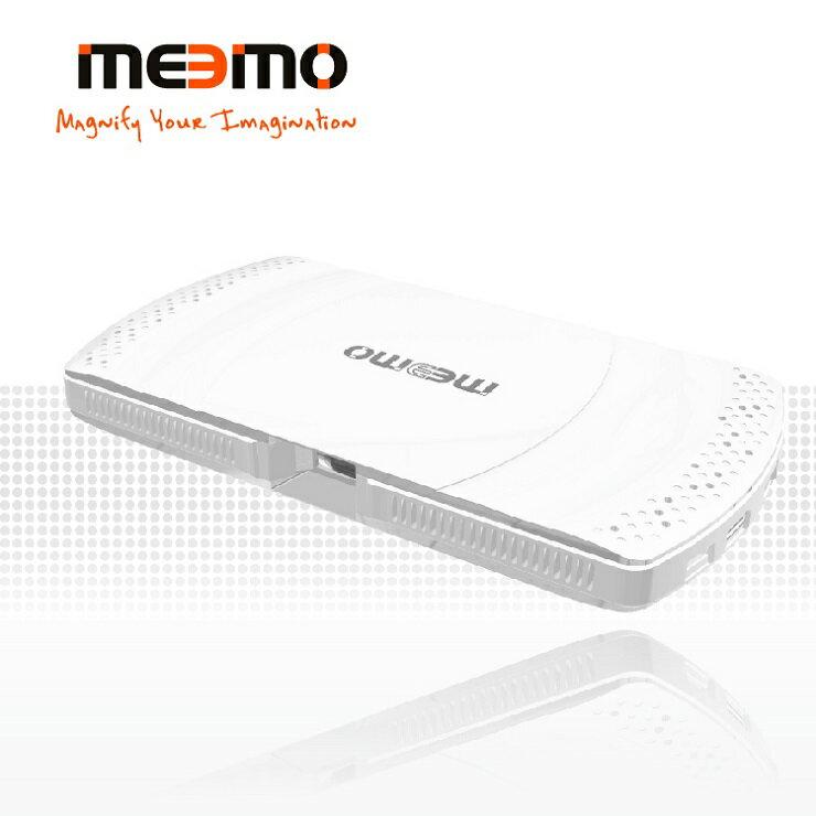 <br/><br/>  【Meemo 地表最強機能】雷射微型投影機 - 天使白/  美國品牌 台灣製造<br/><br/>