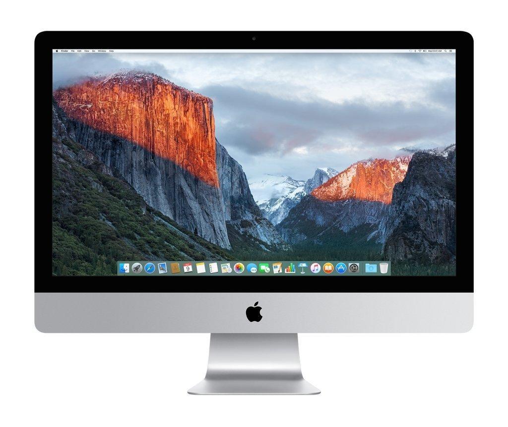 Apple  Desktop Computer iMac 27-inch (Aluminum) 2.7GHZ Quad Core i5 (Mid 2011) MC813LL/A 4 GB DDR3 1 TB HDD 2560 x 1440 Display Sierra 10.12