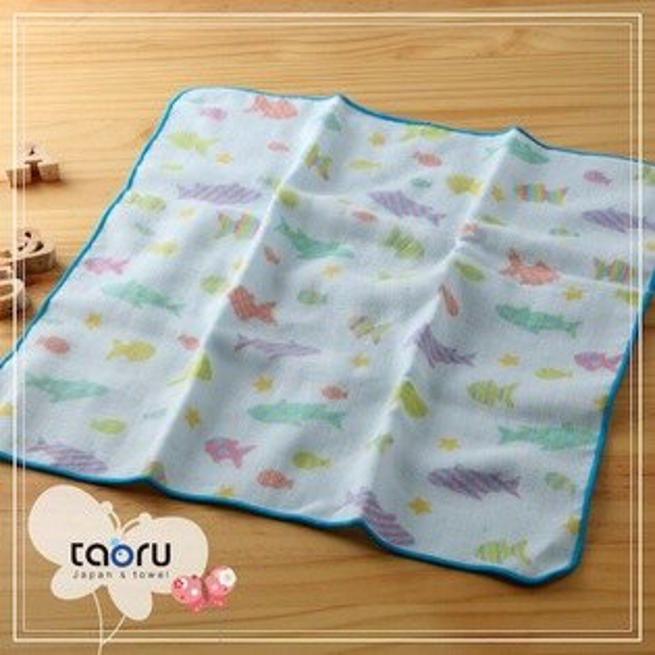 日本毛巾:和的風物詩_糖果魚30*30cm(手巾可愛世界--taoru日本毛巾)